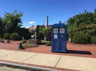 My Tardis at a Park in Nashua