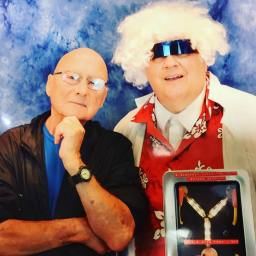 My Doc Brown meets Principal Strickland from BTTF