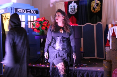 DeathEater Bellatrix arrives and fear ensues
