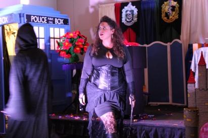 DeathEater Bellatrix arrives and fear ensues
