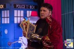 Rassilon does a card trick