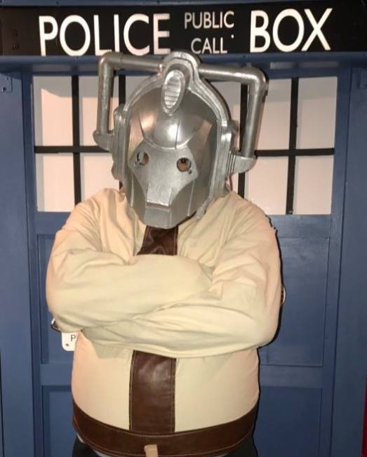 World's only Cyberman Strait Jacket Escape