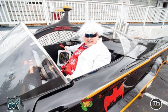 So Doc Brown (me) tried to steal the bat mobile after putting a flux capacitor in it