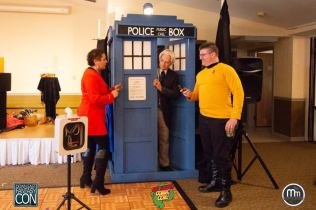Doctor #1 meet some strange creates at my tardis