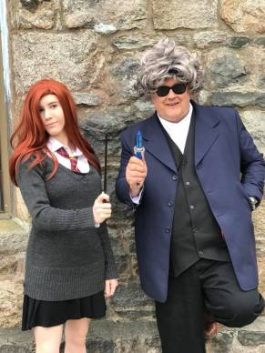Lily Potter and the Doctor?