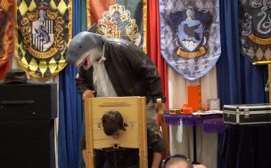 Bruce the Shark takes a head