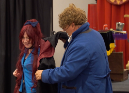 Lily Evans is given a cloak